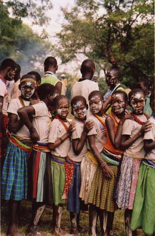 Mathieniko Warrior Girls, Northern Uganda 2006