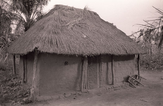 Victor Pamba's house in Aba, Congo from where he was ab