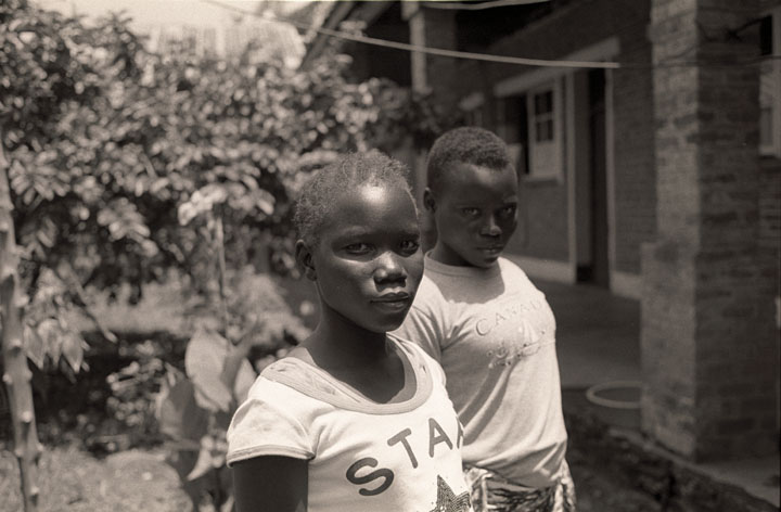 Tokosa Madaleine, age 12 and Mondiyo Munialeko, age 15 were abducted by Joseph Kony's LRA together on March 18, 2009.